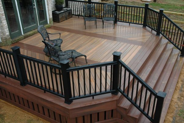 Unbelievable pictures deck landscaping excellence 10