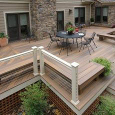 Unbelievable pictures deck landscaping excellence 14