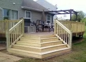Unbelievable pictures deck landscaping excellence 15