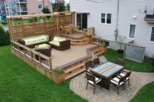 Unbelievable pictures deck landscaping excellence 17