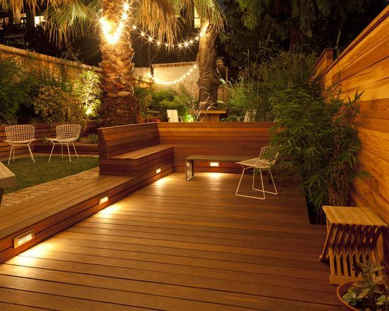 Unbelievable pictures deck landscaping excellence 19
