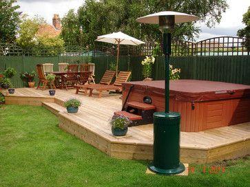 Unbelievable pictures deck landscaping excellence 22