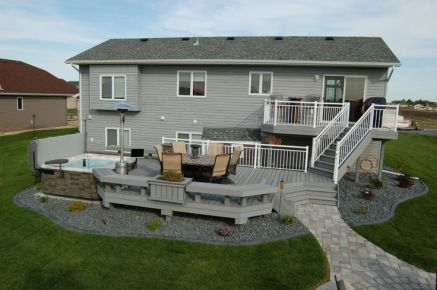 Unbelievable pictures deck landscaping excellence 23