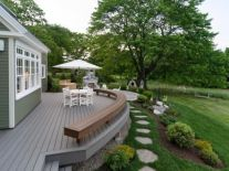 Unbelievable pictures deck landscaping excellence 34