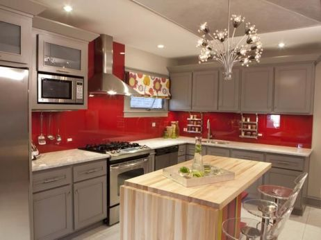 Well passionate red kitchen designs that you must see 01