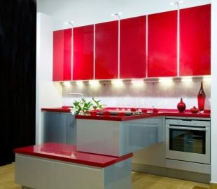 Well passionate red kitchen designs that you must see 18