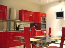 Well passionate red kitchen designs that you must see 23