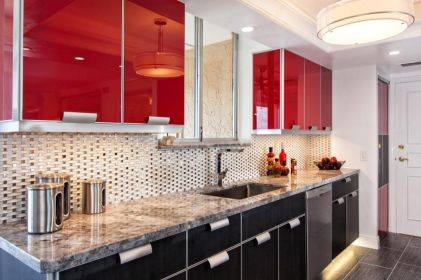 Well passionate red kitchen designs that you must see 24