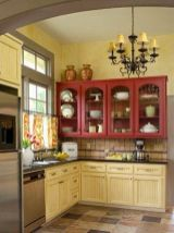 Well passionate red kitchen designs that you must see 28