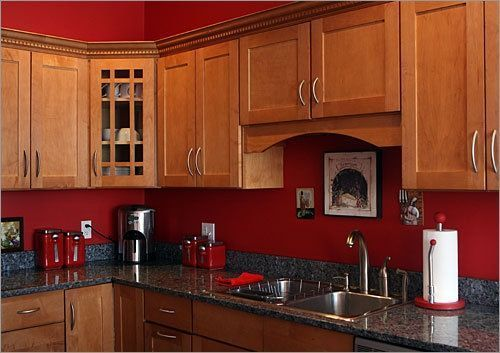47 Well Passionate Red Kitchen Designs That You Must See