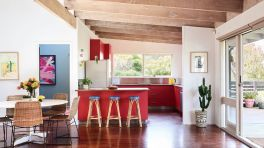 Well passionate red kitchen designs that you must see 44