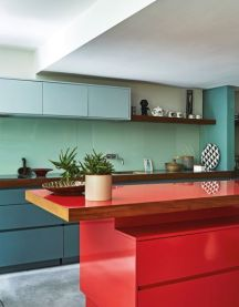 Well passionate red kitchen designs that you must see 46