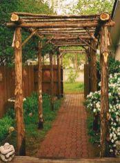 Amazing rustic garden decor ideas 38