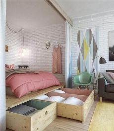 Amazing small space living tips and trick 28