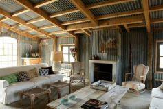 Awesome rustic industrial living room design and decor ideas 03