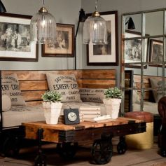 Awesome rustic industrial living room design and decor ideas 42