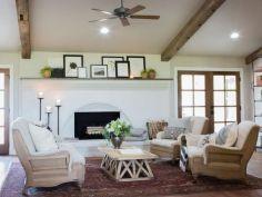 Classic and elegant european farmhouse decor ideas 34