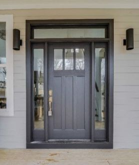Elegant front door design ideas for your house 11