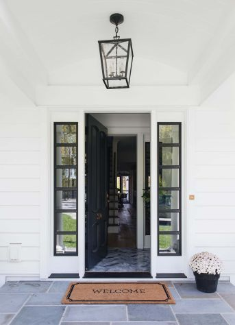 Elegant front door design ideas for your house 18