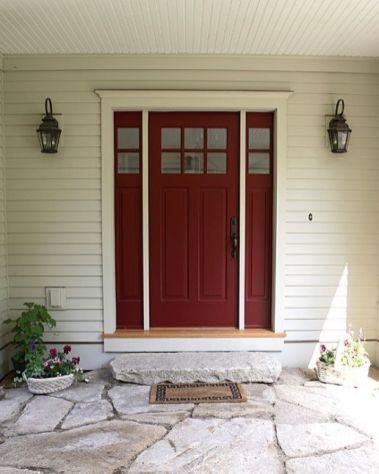 Elegant front door design ideas for your house 19