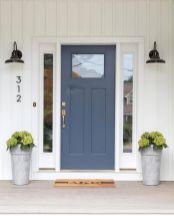 Elegant front door design ideas for your house 21