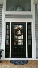 Elegant front door design ideas for your house 26