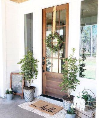 Elegant front door design ideas for your house 31