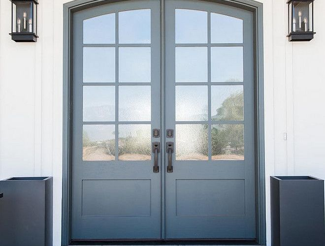 Elegant front door design ideas for your house 37