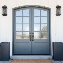 Elegant front door design ideas for your house 37