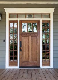 Elegant front door design ideas for your house 38