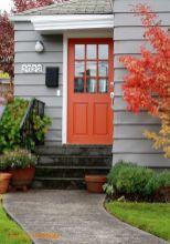 Elegant front door design ideas for your house 41