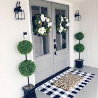 Elegant front door design ideas for your house 42