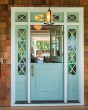 Elegant front door design ideas for your house 44