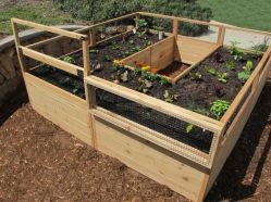 Elegant raised garden design ideas to inspire you 43