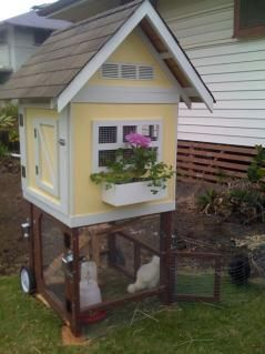 Extraordinary chicken coop decor ideas 08