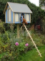 Extraordinary chicken coop decor ideas 14
