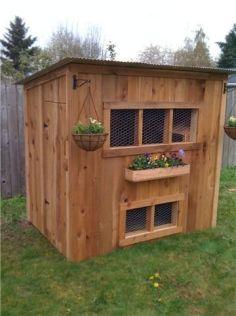Extraordinary chicken coop decor ideas 29