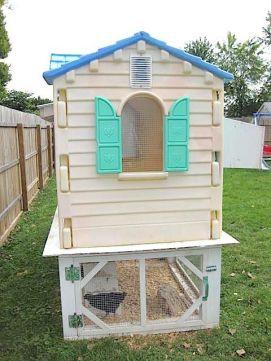 Extraordinary chicken coop decor ideas 39