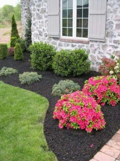 Impressive small front yard landscaping ideas 28