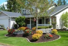 Impressive small front yard landscaping ideas 30