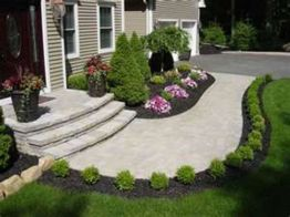 Impressive small front yard landscaping ideas 35