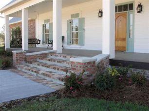 Most stylish farmhouse front door design ideas 29