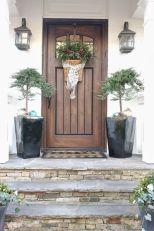 Most stylish farmhouse front door design ideas 32