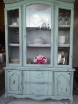 Most unique china cabinet makeover ideas 10