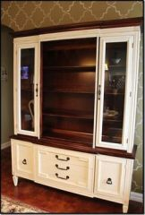 Most unique china cabinet makeover ideas 33