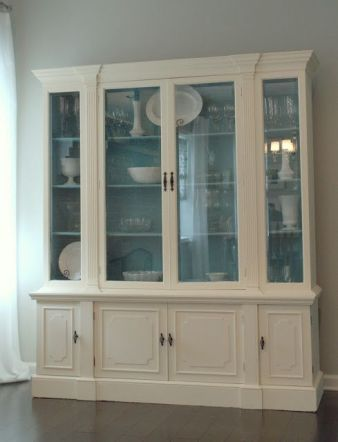 Most unique china cabinet makeover ideas 41