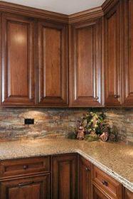 Wonderful wood kitchen design ideas for cozy kitchen inspiration 13