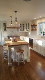 Wonderful wood kitchen design ideas for cozy kitchen inspiration 14
