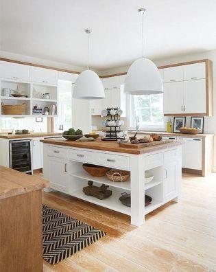 Wonderful wood kitchen design ideas for cozy kitchen inspiration 28