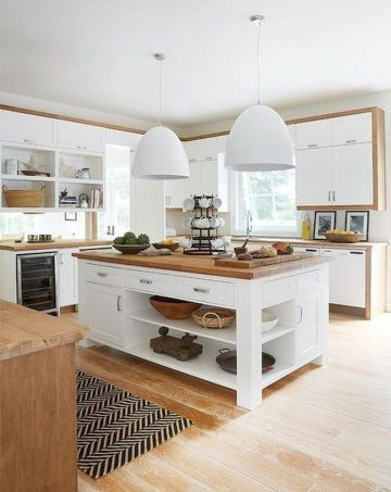 Wonderful wood kitchen design ideas for cozy kitchen inspiration 28